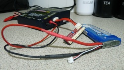 Connecting Battery to charger