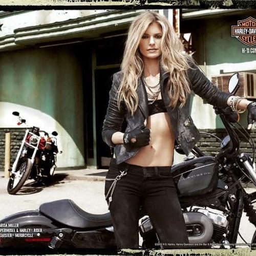 Harley davidson girl wallpaper