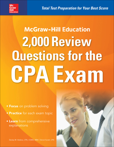 McGraw Hill Education 2,000 Review Questions for the CPA Exam