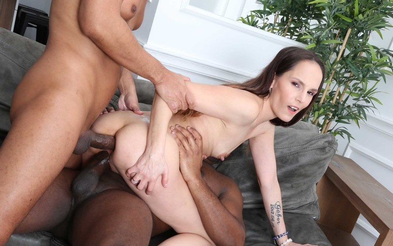 Ivy Wild Vs 2 BBS with Balls Deep Anal, DP, Gapes and Cum Swallow GL377 [HD 720P]