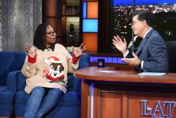 Whoopi Goldberg - The Late Show with Stephen Colbert: November 2nd 2017