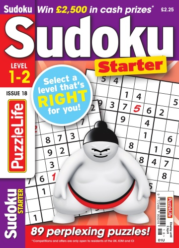 PuzzleLife Sudoku Starter - Issue 18 - March (2020)