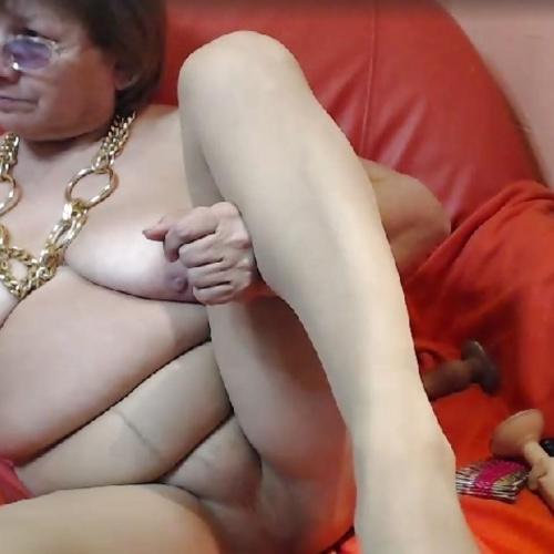 Granny skype porn