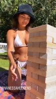 Vanessa Hudgens - White Bikini 12/7/2020