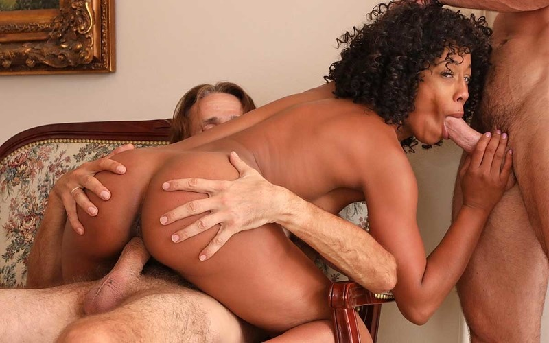Misty Stone - When Two Coworkers Receive Messages [FullHD 1080P]