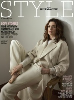 Anne Hathaway -                 The Sunday Times Style Magazine February 10th 2019.