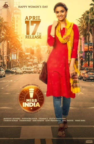 Miss India (2020) 1080p WEB-DL AVC DD5 1 [Multi Audio][Telugu+Tamil+Malayalam]