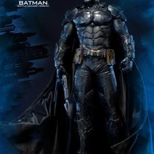 Batman : Arkham Knight - Batman Battle damage Vers. Statue (Prime 1 Studio) KJfZt42Q_t