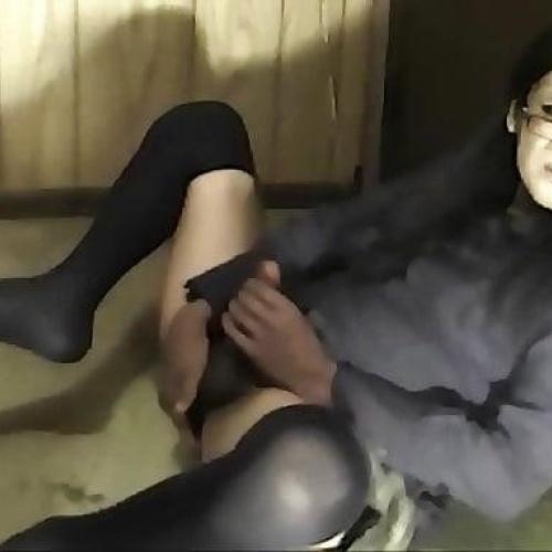 Ebony webcam solo