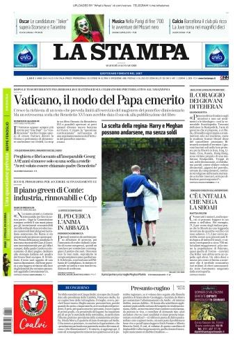 La Stampa - 14 01 (2020)
