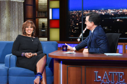 Gayle King - The Late Show with Stephen Colbert: March 7th 2019