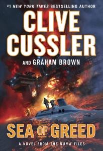 Clive Cussler NUMA 16 Sea of Greed