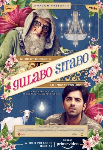 Gulabo Sitabo (2020) 1080p HDRip x264 DD5 1 MSubs-TeamTT