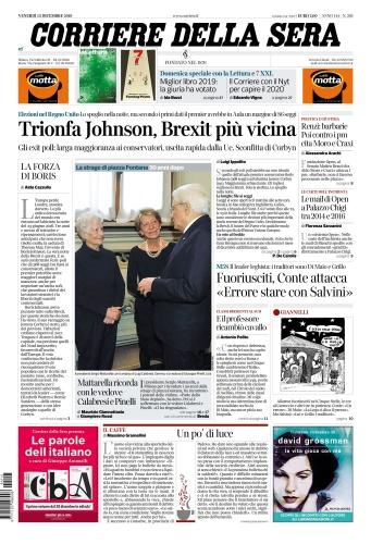Corriere della Sera - 13 12 2019