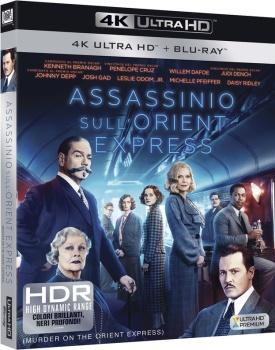 Assassinio sull'Orient Express (2017) Full Blu-Ray 4K 2160p UHD HDR 10Bits HEVC ITA DTS 5.1 ENG TrueHD 7.1 MULTI