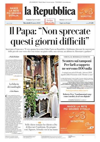 la Repubblica - 18 03 (2020)