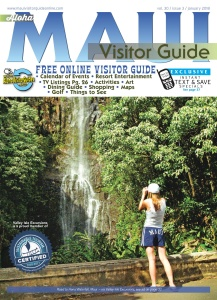 Aloha  Maui Visitor Guide  January (2018)