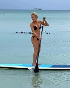 Megyn Kelly, 48, shows off her body in a string bikini
