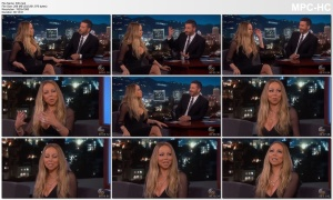 MARIAH CAREY  *cleavage* - kimmel 6.6.2018