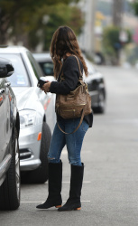 Rachel Bilson - After Lunch out in Los Angeles 10/30/17