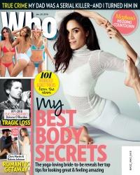 Meghan Markle -          Who Magazine January 29th 2018.
