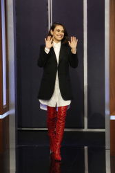 Mila Kunis - Jimmy Kimmel Live: October 30th 2017