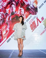 "Evangeline Lilly - ""Ant-Man and the Wasp"" press conference in Shanghai 6/12/18"