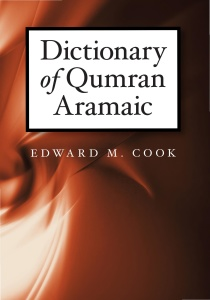 Dictionary of Qumran Aramaic