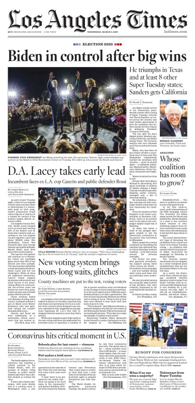 Los Angeles Times - 04 03 (2020)