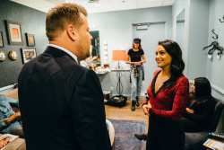 Camila Mendes - The Late Late Show with James Corden: November 21st 2017