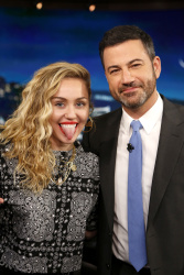 Miley Cyrus - Jimmy Kimmel Live: May 1st 2018
