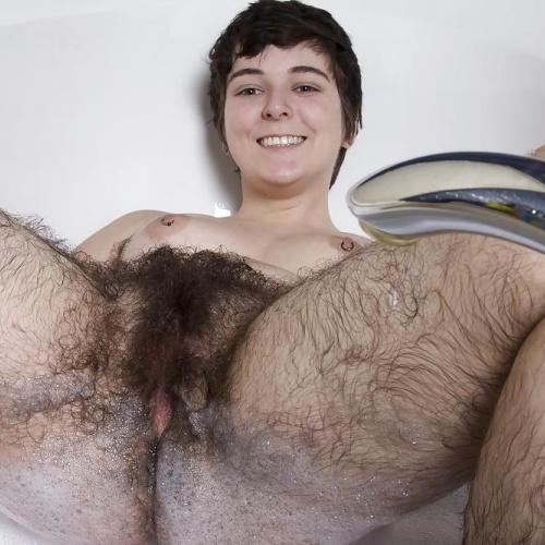 Hairy women pron