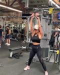 Nicole Scherzinger - Workout 18/5/2019