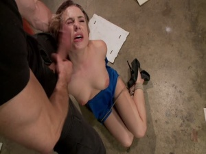 Hot blonde is fucked in tight bondage Dahlia Sky Bill Bailey - BDSM, Punishment, Bondage