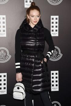 Larsen Thompson  -         Moncler Fashion Show Milan February 19th 2020.
