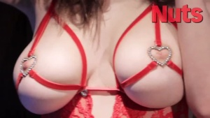 Danielle Sharp & Nicole Neal - Topless Xmas Photoshoot (Jan