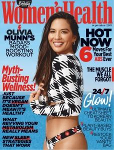 Olivia Munn -         Women's Health Magazine (S.A.) September 2019.