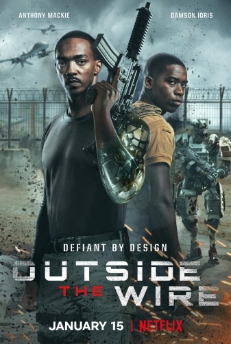 Outside the Wire 2021 1080p NF WEB-DL DDP5 1 Atmos x264-EVO