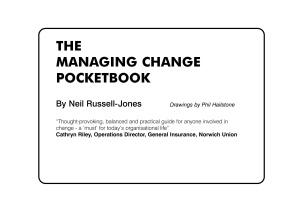 Managing Change (Management Pocketbooks)