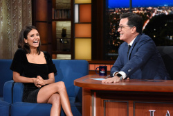 Nina Dobrev - The Late Show with Stephen Colbert: August 8th 2018