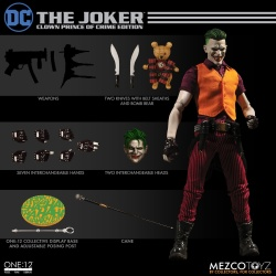 "The Joker -Clown Prince of Crime Edition- One 12"" (Mezco Toyz) SPOMRTY7_t"