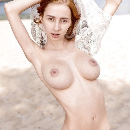 Skinny naked girls with big tits