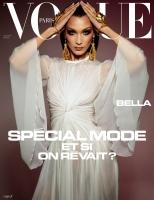Bella Hadid  -           Vogue Magazine (Paris) May/June 2020.