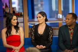 Nikki Bella & Brie Bella - Good Morning America: January 25th 2019