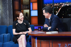 Ellie Kemper - The Late Show with Stephen Colbert: October 5th 2018