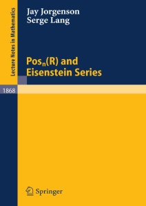 Posn(R) and Eisenstein Series