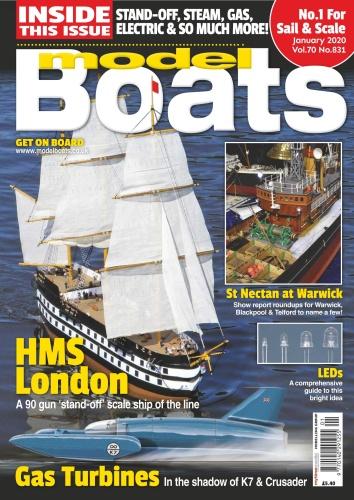 Model Boats - Issue 831 - January (2020)