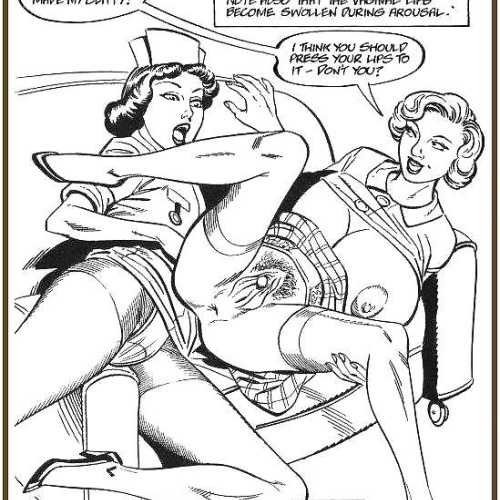 Black and white sex comics