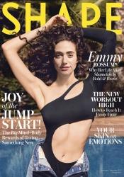 Emmy Rossum - Shape Magazine January/February 2019