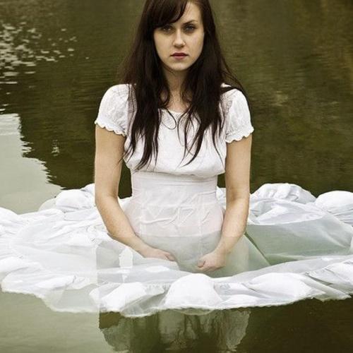 Girls in wet dresses